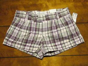 Women's Aeropostale Shorts Color Purple/Multicolor Size 0