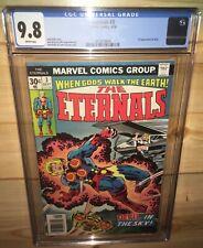 ETERNALS #3 Marvel 1976 CGC 9.8 White Pgs 1st Appearance Sersi Marvel MCU Movie