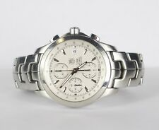 Tag Heuer Link Chronograph Automatic CJF2111 Watch .99 NO RESERVE