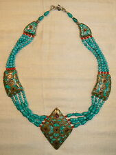 Necklace nepali handicraft - collar artesanía nepali - collana - collier - colar