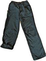 Eastern Mountain Sports EMS Black Nylon Hiking Pants Women's Size 6 Belted