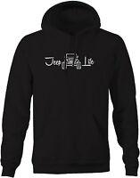 Sweatshirt -Jeep Life 4x4 Off Road Lifted