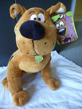 SCOOBY- DOO - Sitting SCOOBY DOO DOG Super Soft Plush Toy BNWT  35cm tall