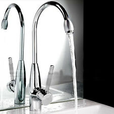 Faucet Chrome Plated Floor Mount Water Taps Basin Kitchen Wash Basin Hot & Cold
