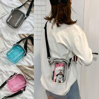 Women Clear Tote Bag PVC Handbag Shoulder Transparent Beach Clutch Purse Fashion