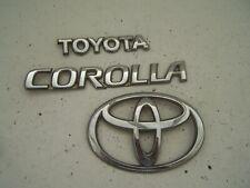 Toyota Corolla Tailgate badge (2004-2006)