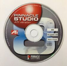 Pinnacle Studio ATI Version Compact Disc 800 180-G3D051-800 **Disc Only**