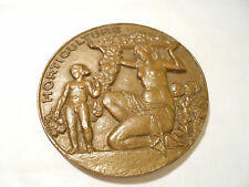 MEDAILLE BRONZE 50mm RECOMPENSE HORTICULTURE NUS
