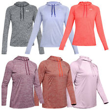 Under Armour Ladies Tech Twist 2.0 Hoodie Hooded Top Pullover Jumper Sweater UA