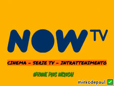 NOW TV 1 MESE CINEMA - SERIE TV - INTRATTENIMENTO - COUPON NOWTV SMART STICK ✅🔥
