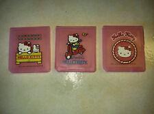 3 boite/étui (Cartridge case) HELLO KITTY pour jeu Nintendo DS - Envoi suivi