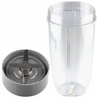 Felji Extractor Blade and 32 oz Colossal Cup Combo For NutriBullet 600w 900w NB-