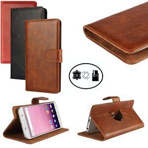 Bookcase für Huawei P smart 2021 Schutz Etui Tasche Hülle Handy 360 Leder V5 XXL