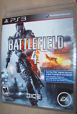 Battlefield 4 PS3 (Sony Playstation 3, 2013) - NEW SEALED FREE SHIPPING! EA DICE