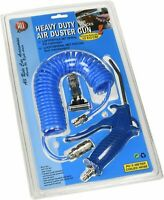 Details about  /10M AIR LINE HOSE COMPRESSOR LINE TOOL TOOLS COILED HEAVY DUTY 51210