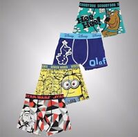 Infant Boys Character Print Single Boxer Shorts Stretchy Underwear Sizes Age 2-6
