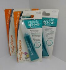 3X Sally Hansen Cuticle Rehab 41053 Cuticle Oil 0.29 oz Each New Sealed Lot of 3