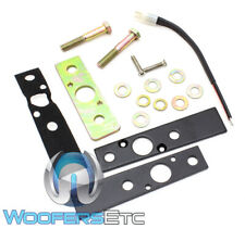 WET SOUNDS ADP REV X-B BLACK X SURFACE MOUNT KIT FOR REV & ICON TOWER SPEAKERS