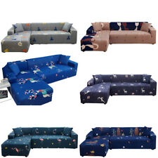 1 2 3 4 Seater Stretch Elastic Sofa Covers Slipcover Couch Cover Cat Bear Deer