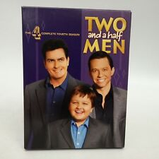 Two and A Half Men~DVD~Complete 4th Season~Charlie Sheen