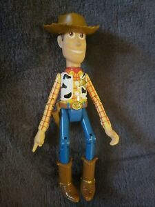 """Disney Thinkway *Sheriff Woody* 6"""" Action Figure with hat!"""