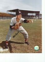 Mel Parnell Boston Red Sox Autographed  8X10 PHOTO