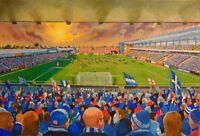 Priestfield Stadium Fine Art A4 Print - Gillingham Football Club