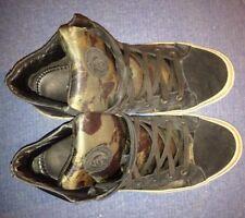 Scarpe Shoes DIESEL Eur 44 Originali Usate Footwear Militari Mimetiche Verdi