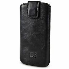 Bouletta POUCH LEATHER case (MultiCase) for iphone 6 PLUS Rustic BLACK RST1 1852