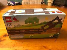 2009 Lego Duplo Eisenbahn Train Set 2734 Straight Rails (6x pieces) Brand New