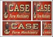 CASE EQUIP FARM SIGNS HO SCALE WATERSLIDE BUILDING DIORAMA LAYOUT SIGNS HO103