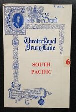 More details for theatre royal drury lane prog. 1953 south pacific sean connery 1st acting job