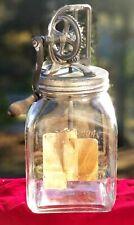 Antique Dazey Glass Butter Churn No 40 St Louis MO Patented Feb 14, 1922 VGC