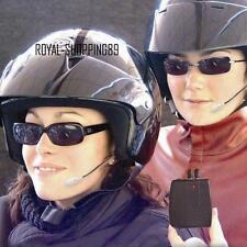 INTERFONO PER 2 CASCHI ATTACCO AUDIO MP3 RADIO CD MOTO MICROF AURICOLARE