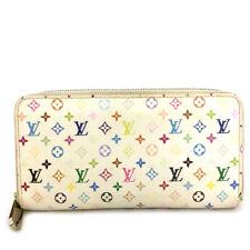 Louis Vuitton Monogram Multicolor Zippy Zip Around Long Wallet /A0324