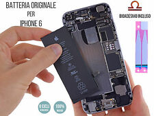 BATTERIA ORIGINALE NUOVA per APPLE iPhone 6 1810 mAh RICAMBIO + BIOADESIVO