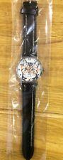 Cute Cat Face Wrist Watch with Black Strap - UK