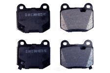 Disc Brake Pad Set-Semi-Metallic Pads Rear Autopartsource MF961