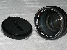 Nikkor-S.C 1:1.4 F=5cm(50mm) Nippon Kogaku Japan №389962