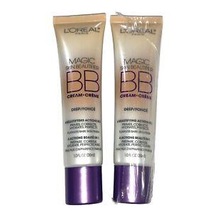 L'Oréal Magic Skin Beautifier BB Cream 816 Deep LOT OF 2