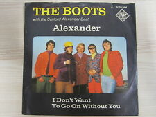 Single / The Boots With The Sanford Alexander Beat ‎– Alexander  / MUSTER / RAR