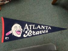 Vintage 1969 Atlanta Braves Pennant Major League MLB Indian Mascot