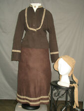 Victorian Dress Women's Edwardian Costume Civil War Reenactment Western Prairie