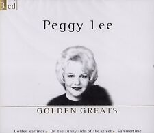 Peggy Lee-GOLDEN Greats (3-cd-box) 75 CANZONI!!! NUOVO & OVP!!!