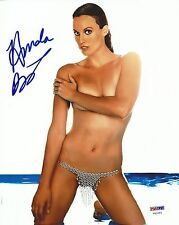 Amanda Beard Signed 8x10 Photo PSA/DNA COA Playboy Autograph Picture Olympics 3