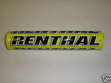Renthal Yellow Shiny MotoX Streetfighter Motorcycle Handlebar Bar Pad