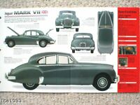 JAGUAR MARK VII 7 SPEC SHEET/Brochure:1953,1954,1955,