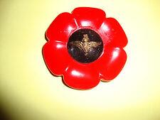 regimental poppy style brooch/PARACHUTE REGIMENT