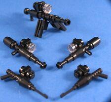LEGO® Parts STAR WARS™ Custom Blaster Mixed Lot Heavy Machine Gun & 4 Rifles