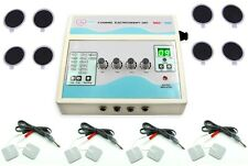 Pro Electrotherapy 4 Channel Physical Pain Relief Chiropractic Puls Therapy Unit